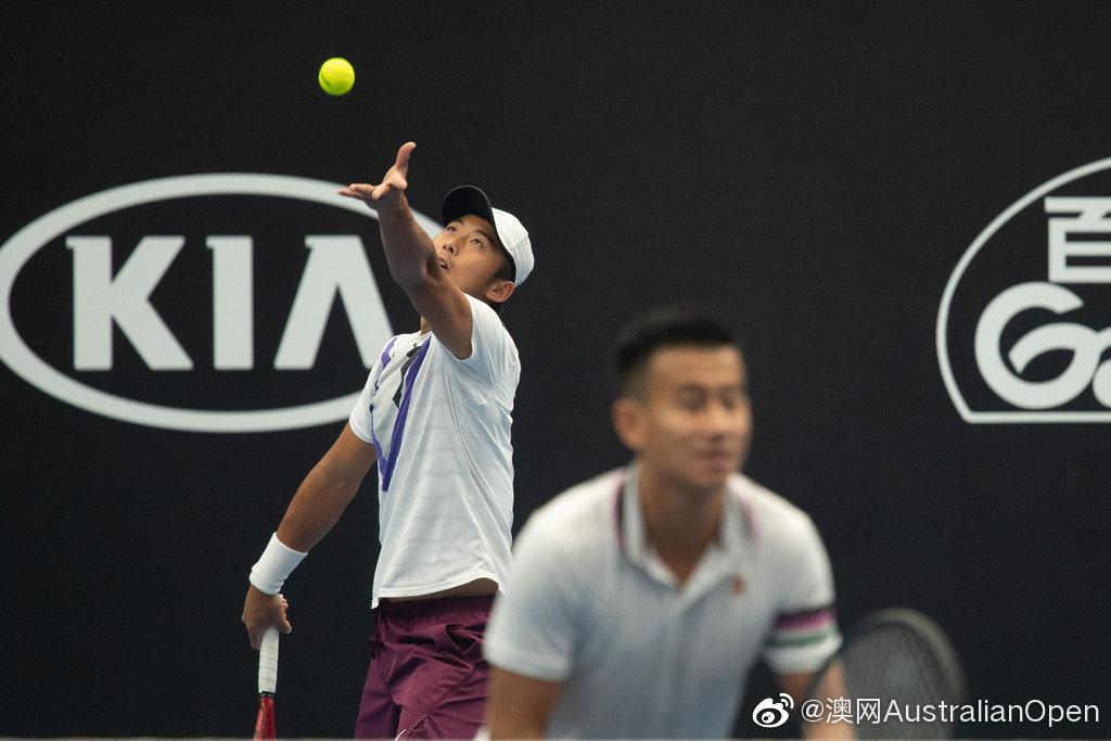 亚太区外卡赛,中国男双组合张择/公茂鑫再进一步