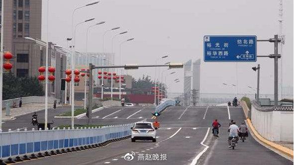 解放大街(槐安路至和平路)段明日开通试运行