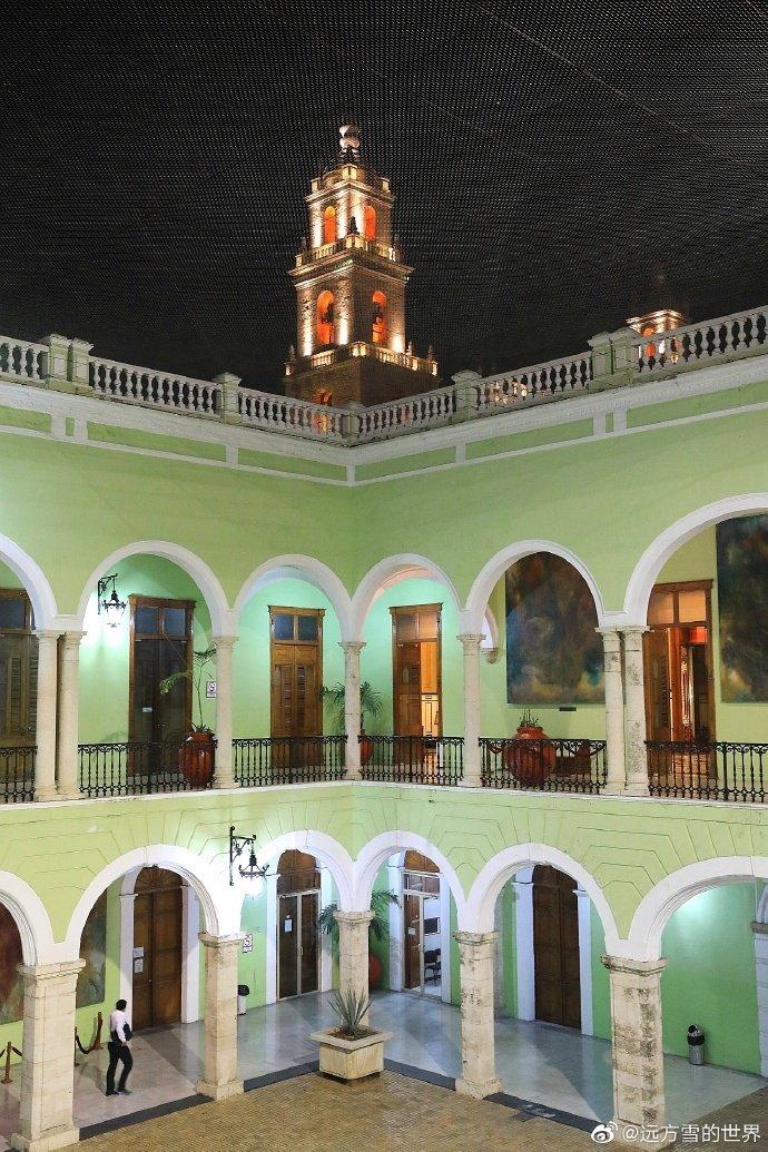 墨西哥尤卡坦州首府梅里达,一个殖民城市
