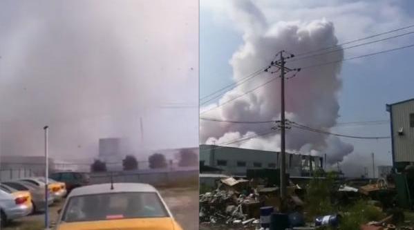 广西:5吨反应釜爆炸,目击者称地面有震动但无刺激气味