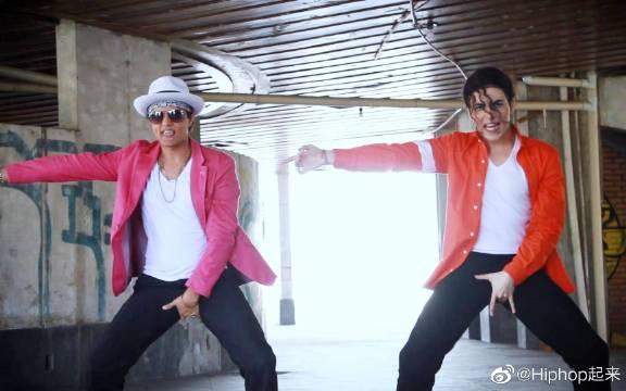 迈克尔杰克逊和火星哥斗舞?!MJ生日纪念作