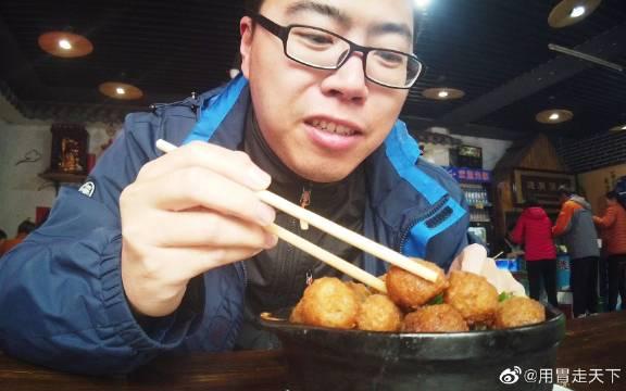 在正定吃天元砂锅,百年老店砂锅丸子25一份,满满一锅丸子真不赖