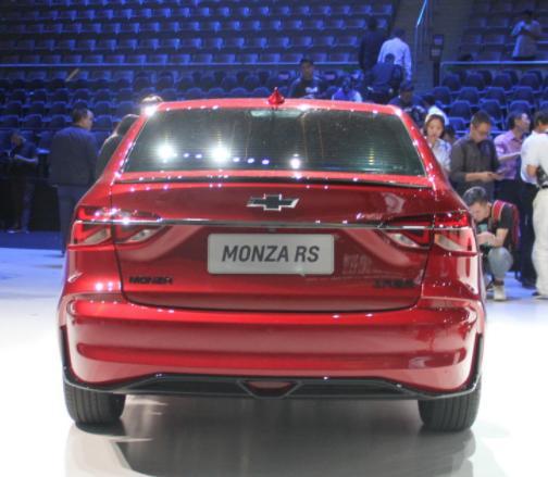 雪佛兰Monza车展首发,外观运动感十足,将搭载1.0T/1.3T发动机