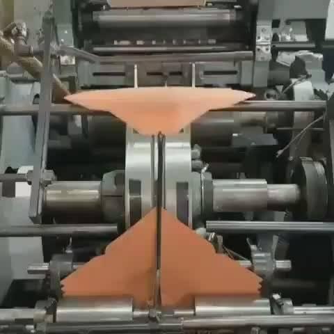 自动折纸机构,全自动的批量制作信封