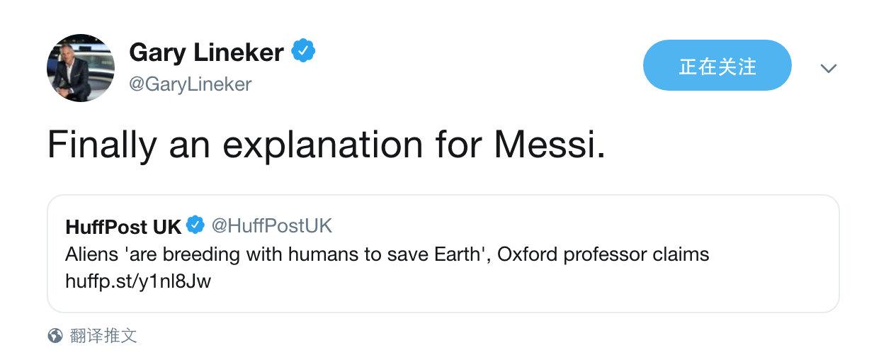 《赫芬顿邮报》:牛津大学教授称