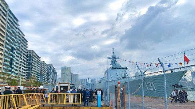 一个执勤站姿,中国海军士兵和日本海上自卫队的直观对比差距