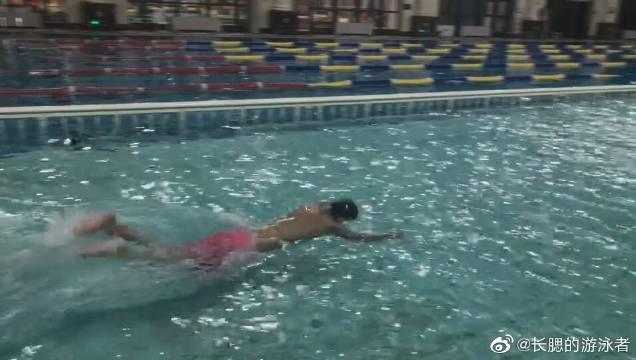 第二次蝶泳,感觉还是不行!