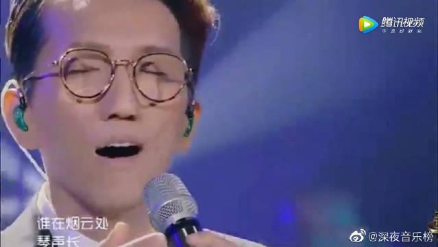 林志炫唱功真是太牛了!一首《卷珠帘》征服了在场的所有人,太厉害