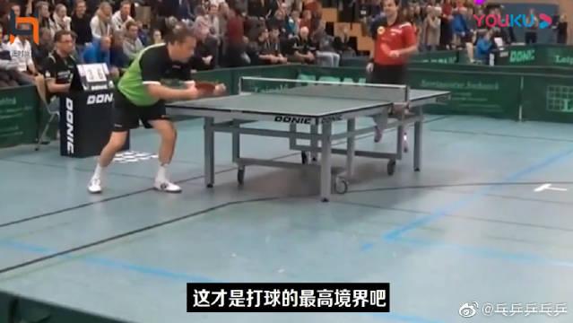 这才是打乒乓球老顽童最高境界!瓦尔德内尔:球呢?