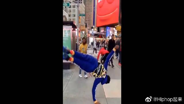 街头街舞,黑人的舞动世界,这个核心厉害了
