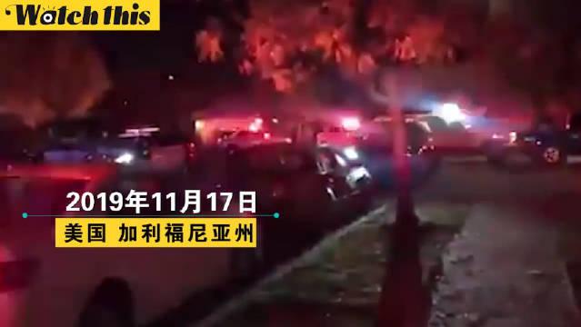 据外媒报道,当地时间17日,在美国加州弗雷斯诺的一个聚会上