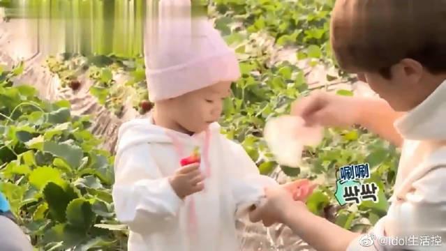 崔珉焕带娃经验还是不足,前辈把孩子的东西带了一行李箱!