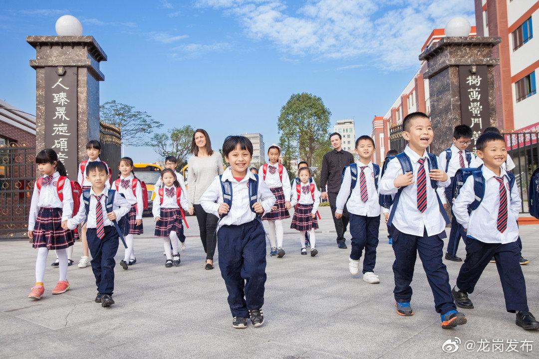 计划招生700人,龙岗区珊蒂泉外国语学校举行校园开放日活动