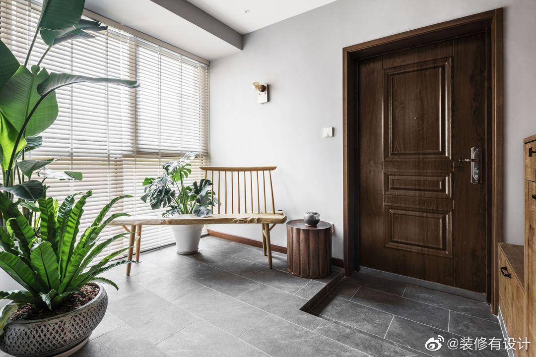 116㎡现代日式风三居室,为妈妈准备的旧房改造设计