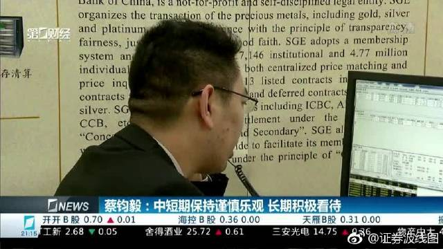 蔡钧毅:中短期保持谨慎乐观,长期积极看待