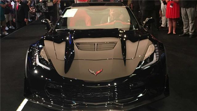 拍卖价270万美元的跑车不稀奇,但如果那是一辆科尔维特呢