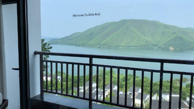 打卡安吉网红地标阿丽拉酒店,深山中竟然还有如此奢华的地方