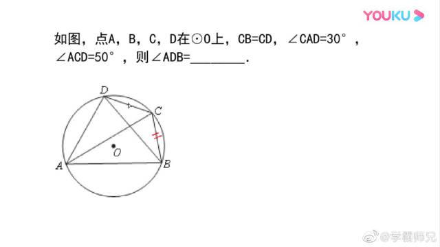 数学真题常见题型,与圆结合的角度的求值问题