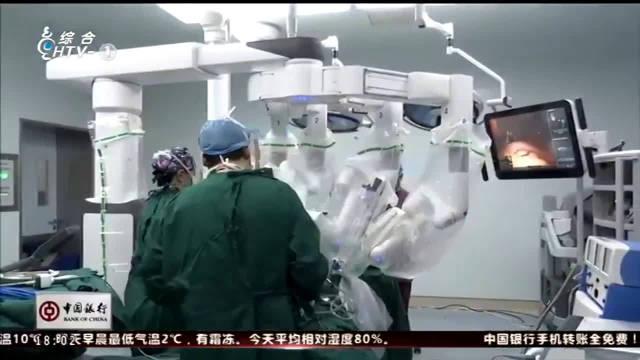 """医生也有""""钢铁战衣""""了 浙江首例第四代""""达芬奇""""机器人手术6日成功"""