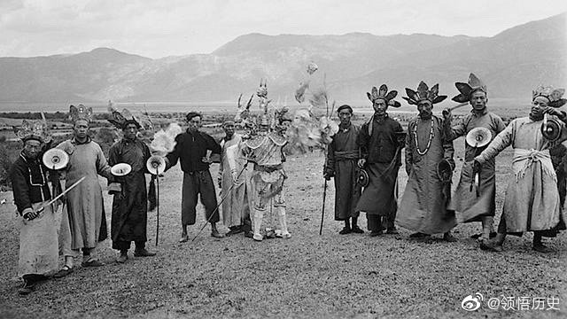 二十年代丽江,玉龙雪山纳西族生活