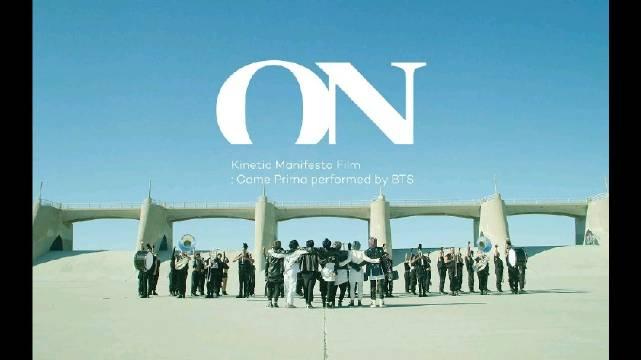 BTS (防弹少年团) 新专辑主打歌 Kinetic Manifesto Film