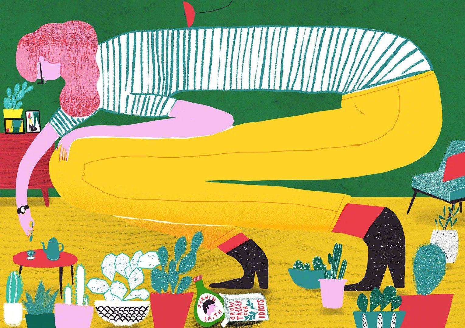 来自插画师  Alisa Sajapina 绘画作品      www.behance