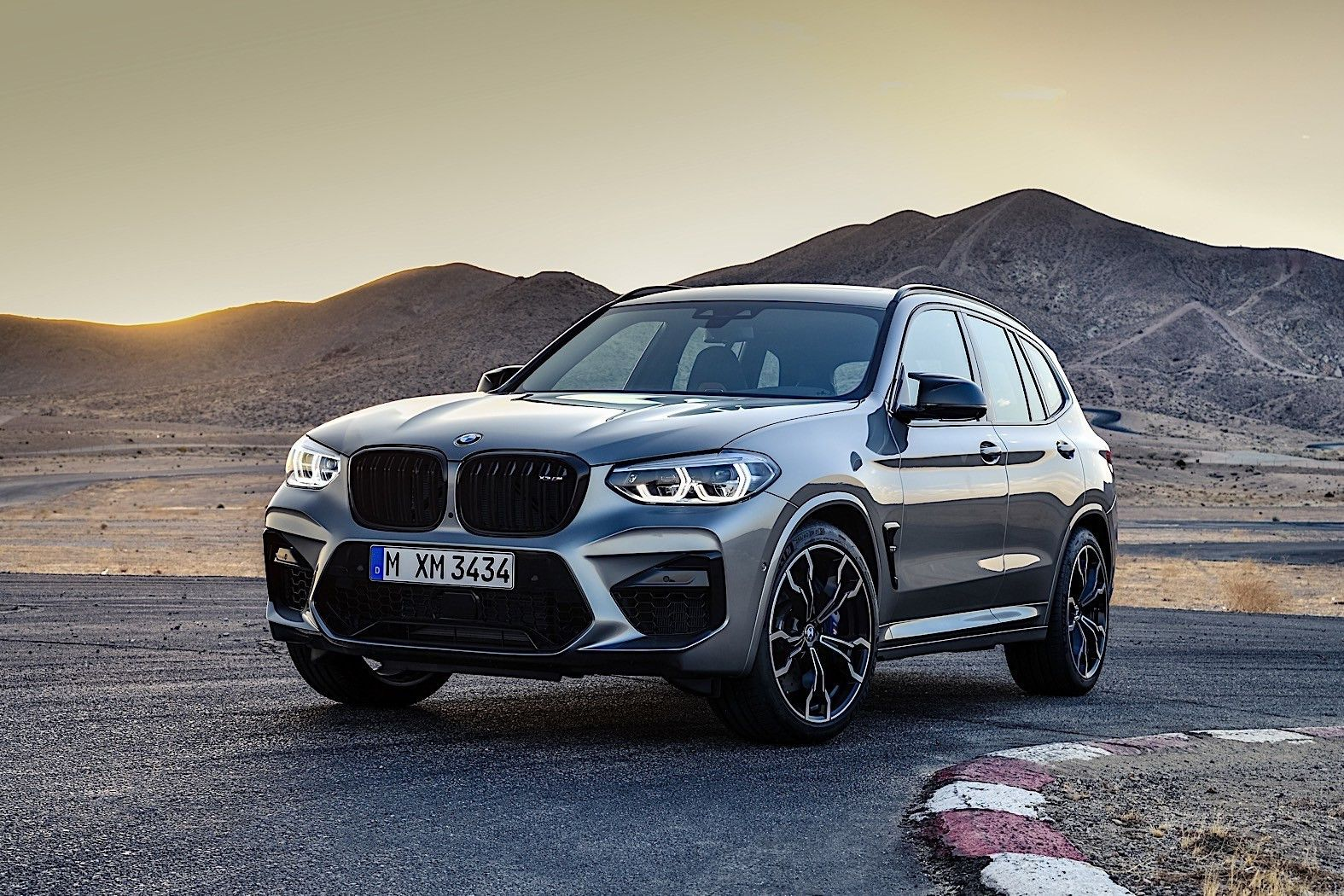 被M系列盘过的总不会差 新款BMW X3 M喜欢吗