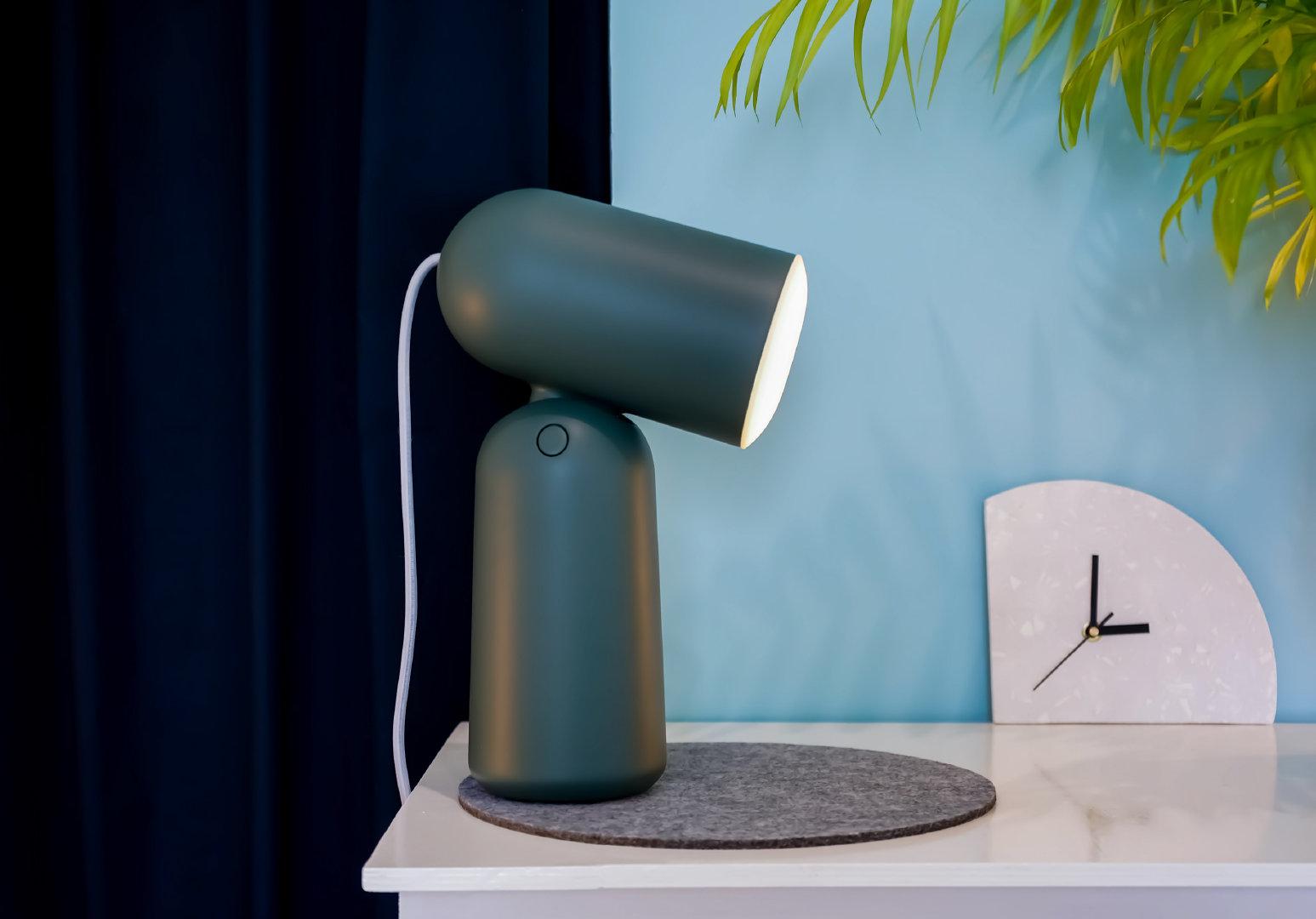 Buddy是一款与Gantri合作设计和生产的3D打印工作灯