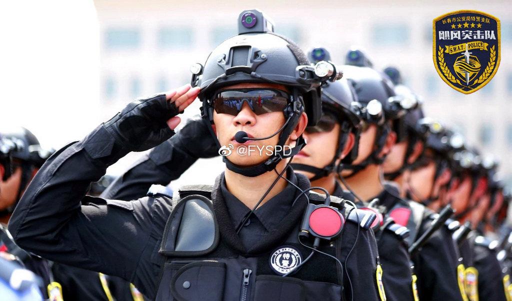 长春特警飓风突击队实战演练执勤掠影