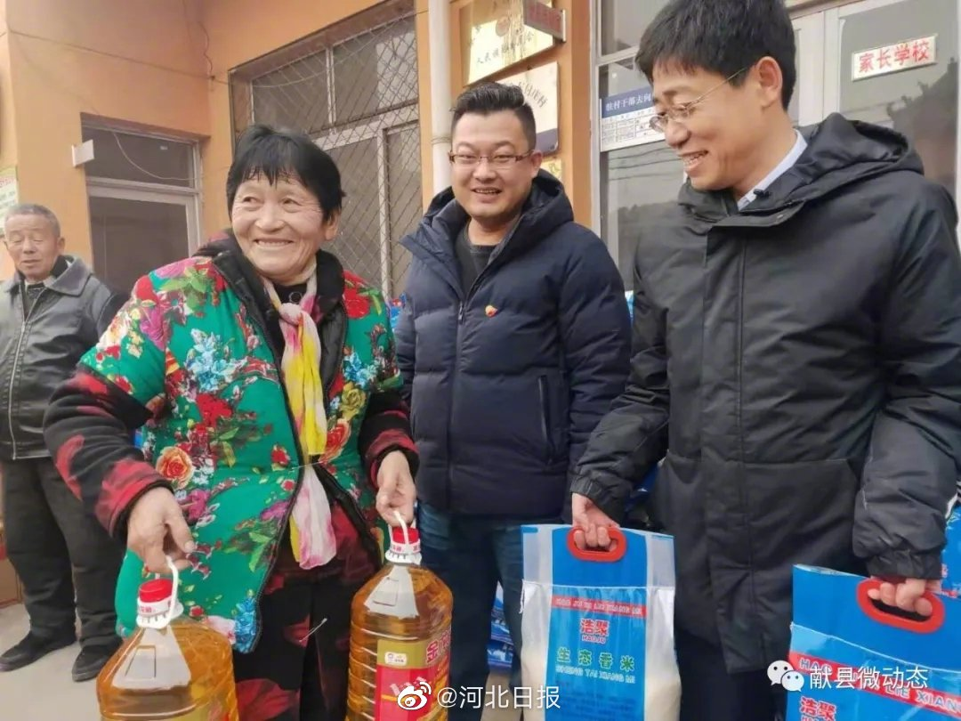 致富不忘众乡亲!沧州80后小伙给村民送年货,10年来为家乡捐款50万