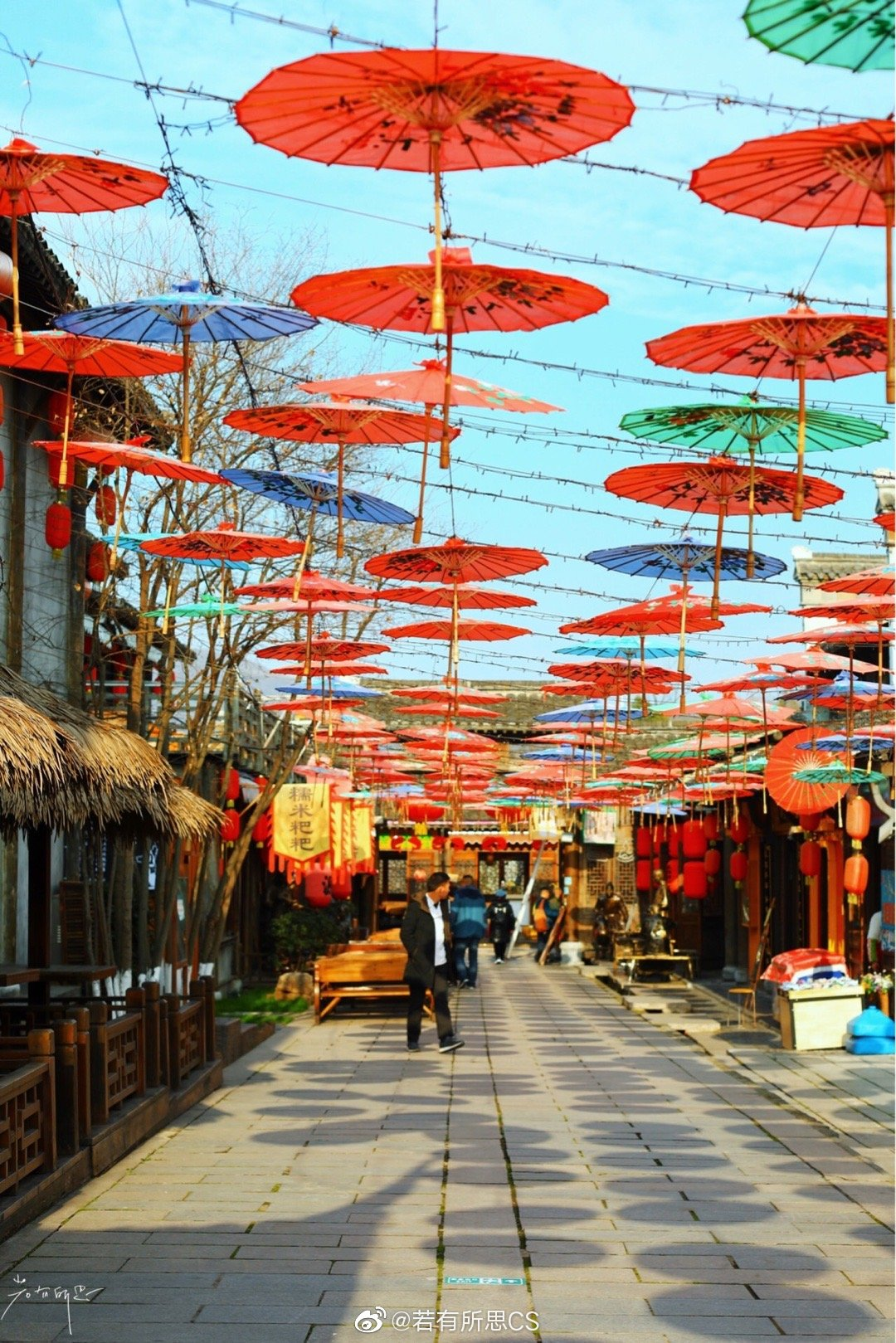 镇江句容,宝华山国家森林公园,千华古村,这里过年的气氛好浓郁