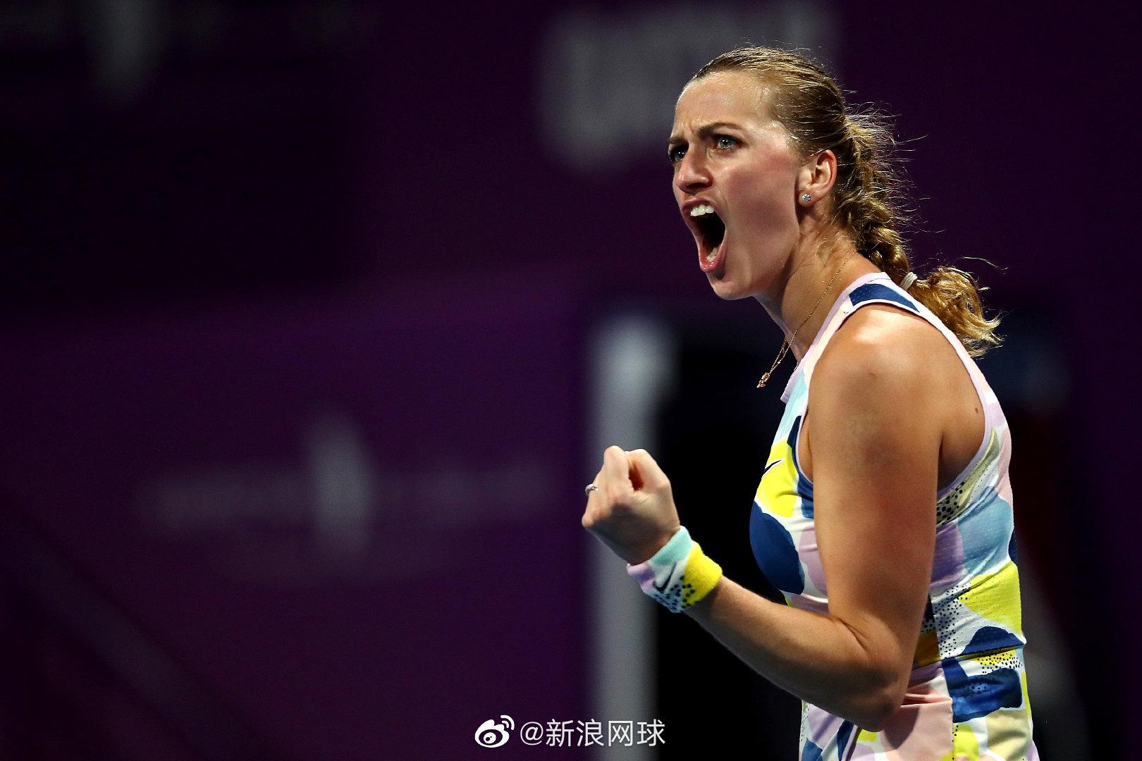 科维托娃对阵世界第一胜利