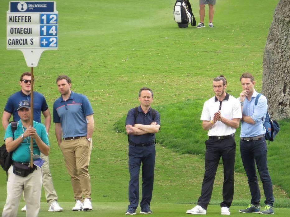 贝尔以业余选手身份参加2019西班牙高尔夫公开赛
