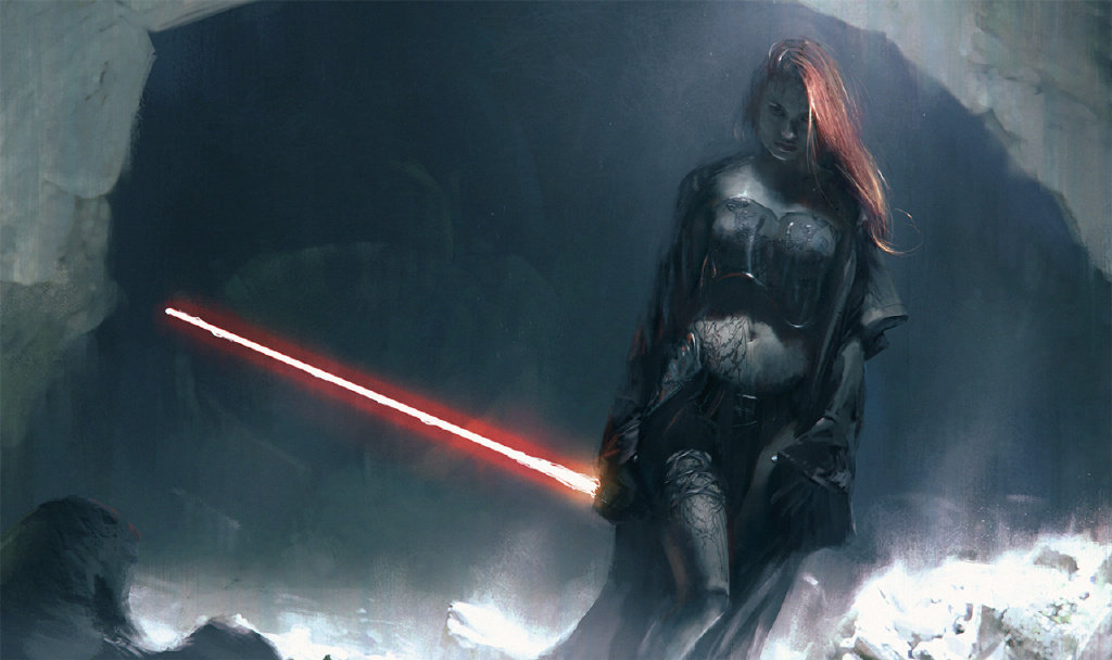 Girls of Star Wars Concept Art 丨Created by Wotjek Fus