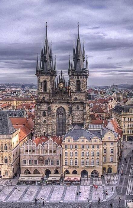 捷克布拉格 你的浪漫看多久都一样