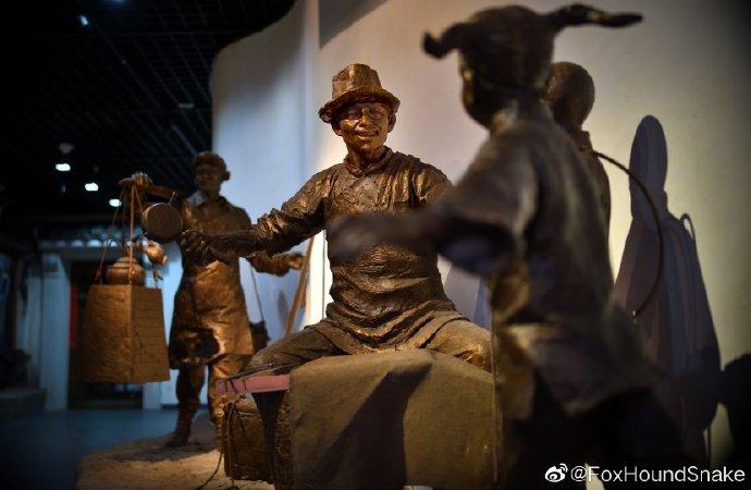 南通濠河博物馆,民俗一瞥