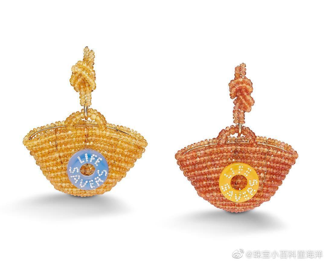 往大里说这叫波普艺术与珠宝工艺相结合的经典作品