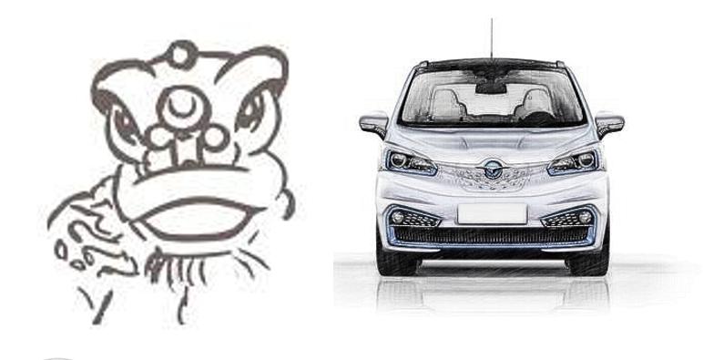 国产电动小车也可以这么帅!醒狮+满天星,配LED不足6万