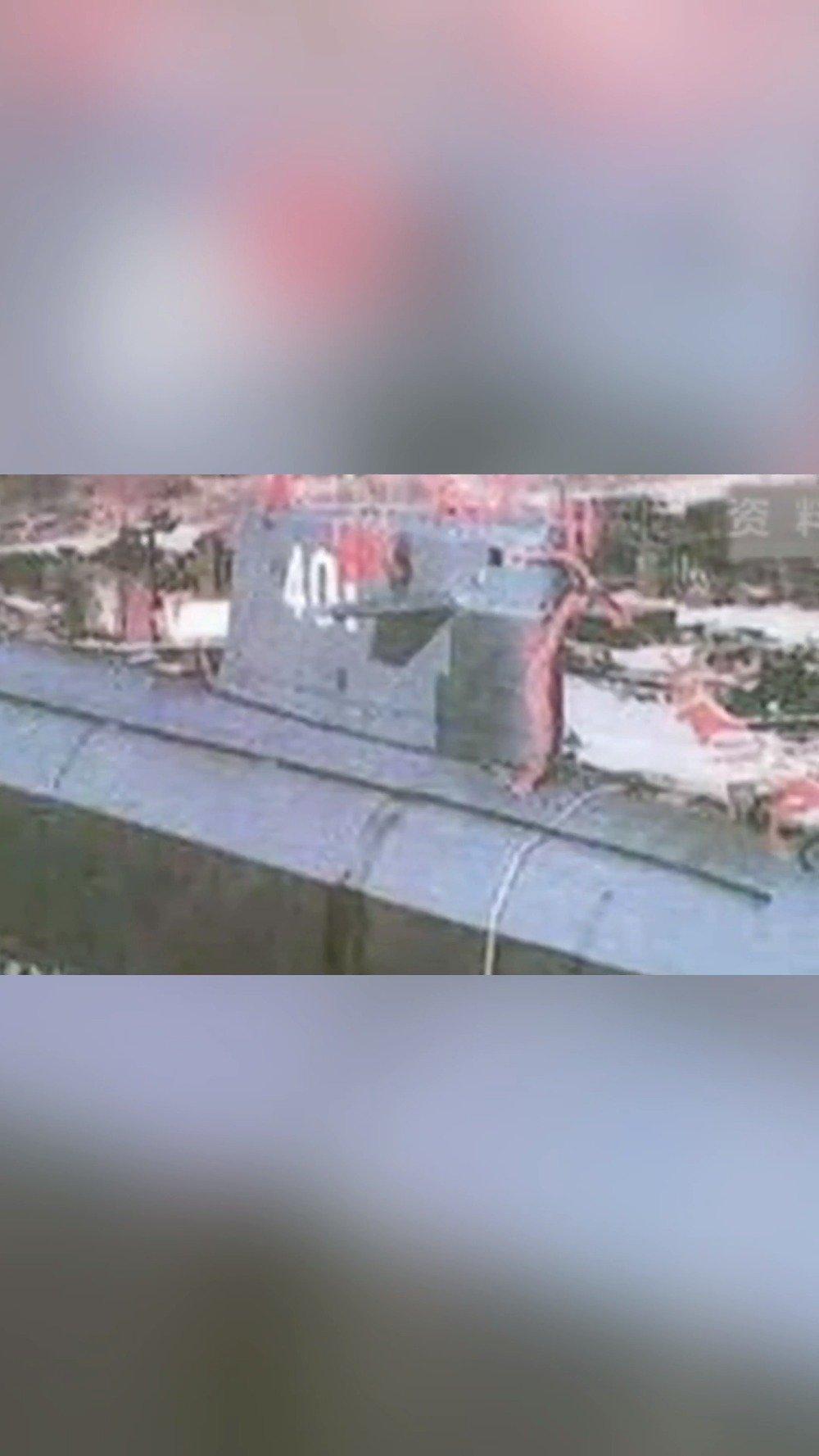 """1974年8月1日""""长征一号""""核潜艇正式装备海军,威武我大中国!"""