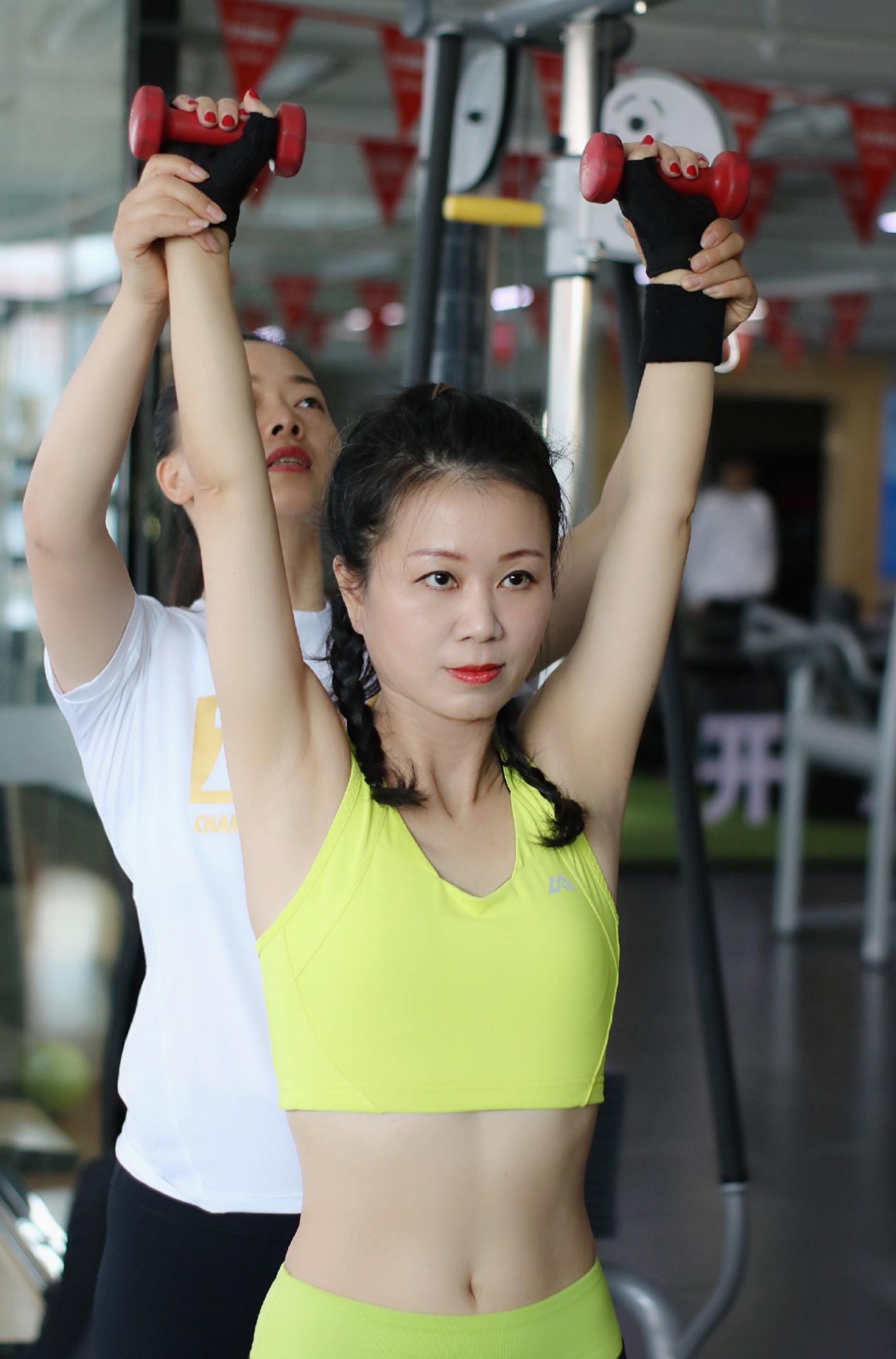 最近,我的私人健身教练@V大公子_王小芳