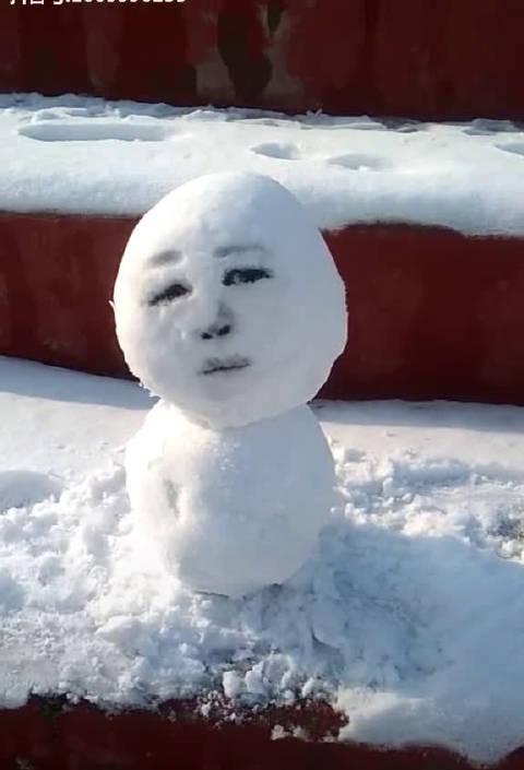 莫名的替雪人感到忧伤哈哈哈哈