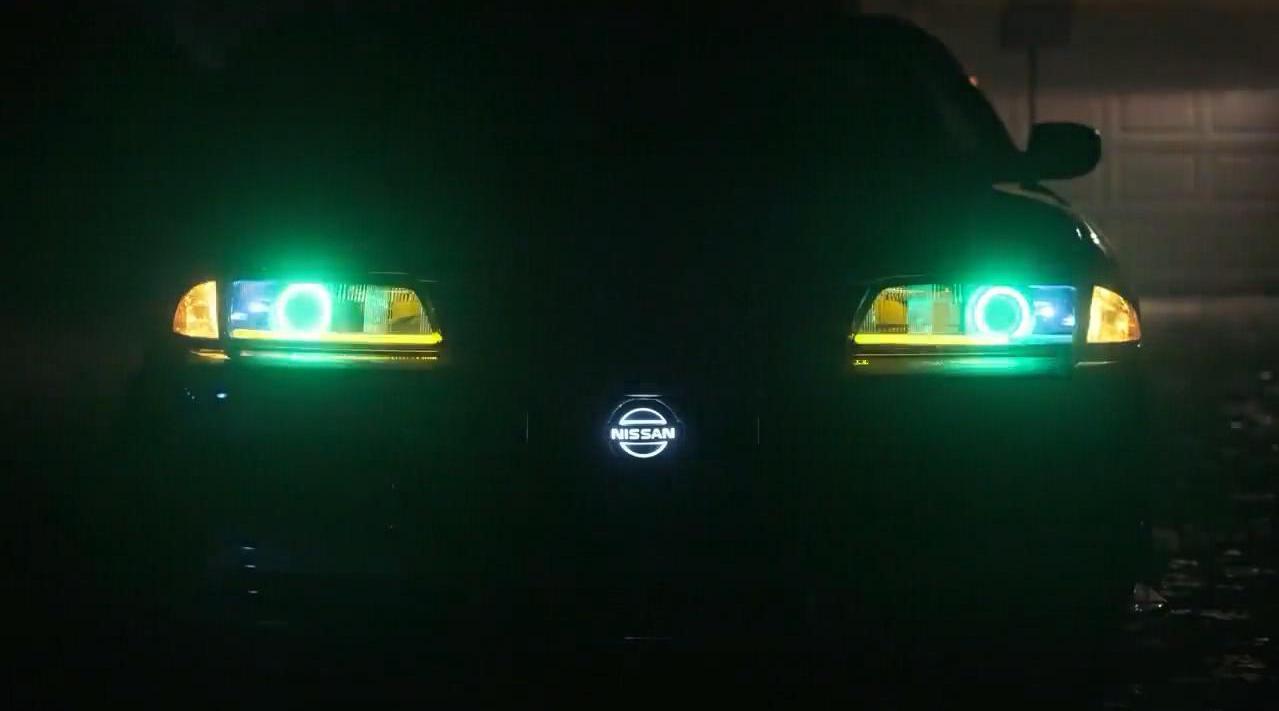 看完这辆改装后的日产战神GTR灯光系统,瞬间觉得奥迪灯厂弱爆了!