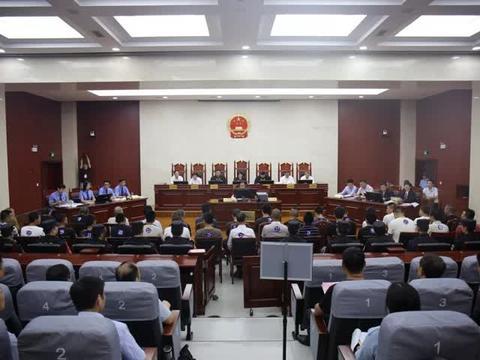 扬中法院依法公开审理首起涉恶势力犯罪集团案件