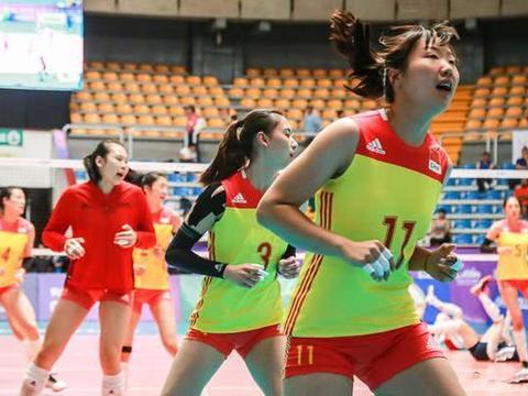 世青赛,中国女排获首胜,天才少女大发神威,朱婷全运会有帮手了