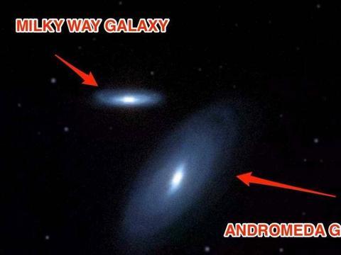 当银河系与仙女座星系相撞时,地球会发生什么?