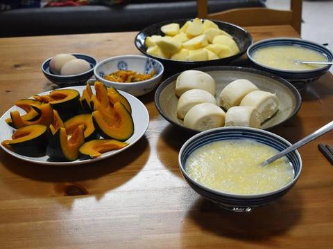 春节假期,用心做了这桌早餐,简单清淡又营养,刮油清肠不积食