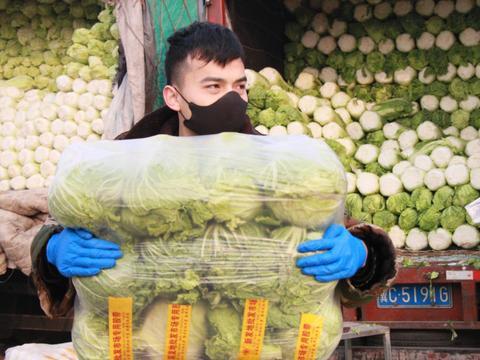 视频|北京农产品货源充足供应稳定 市民无需抢购、囤积