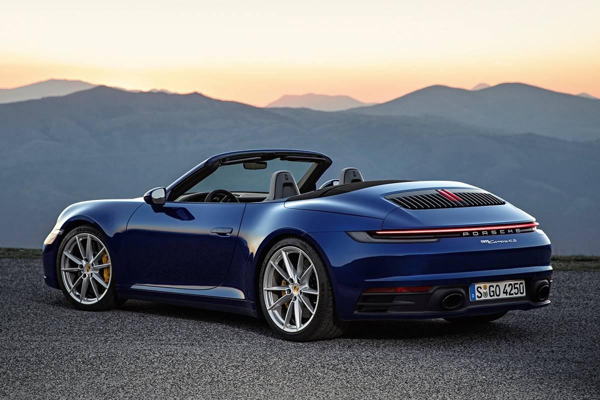全新保时捷911敞篷版售价公布 软顶可在12秒内打开