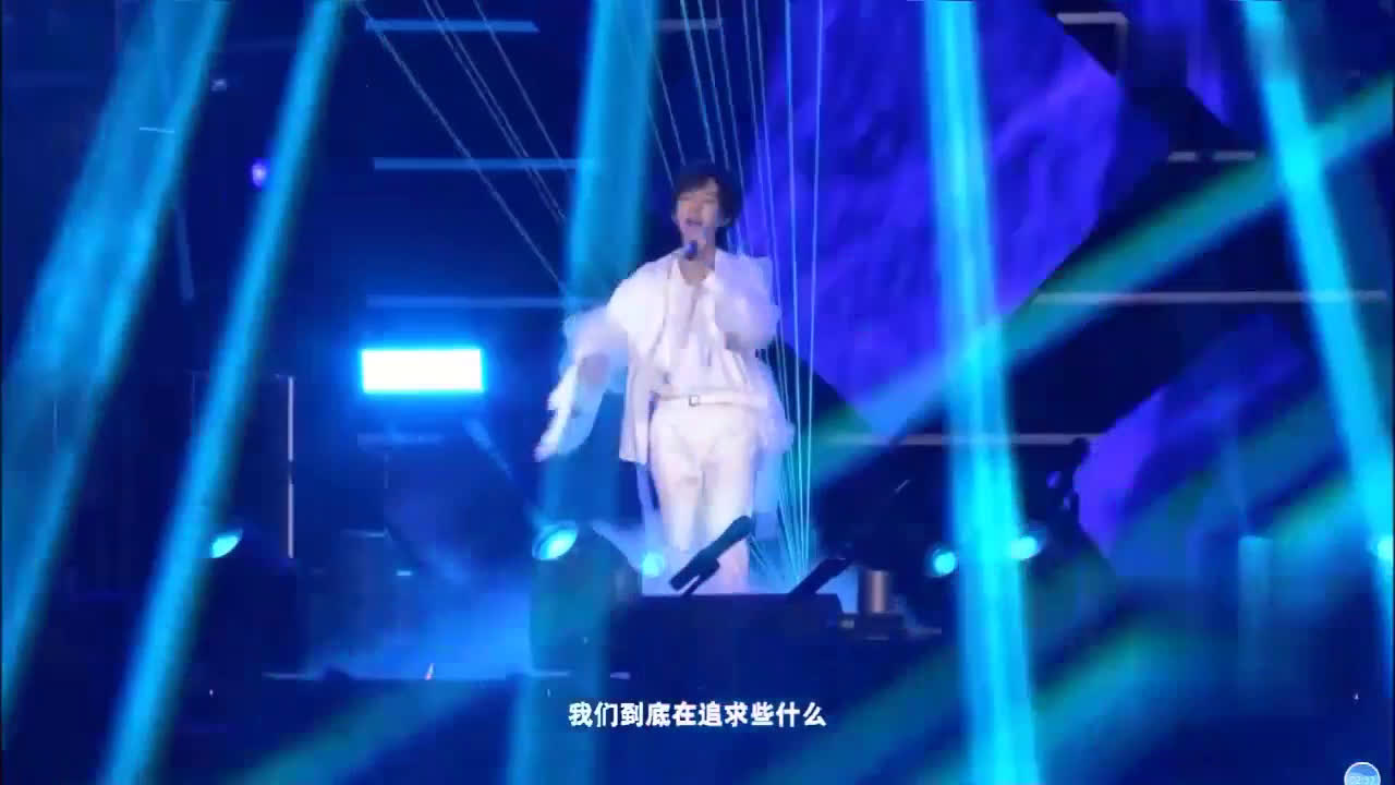 TF家族新年音乐会贺峻霖现场演唱《蜂鸟》Live版
