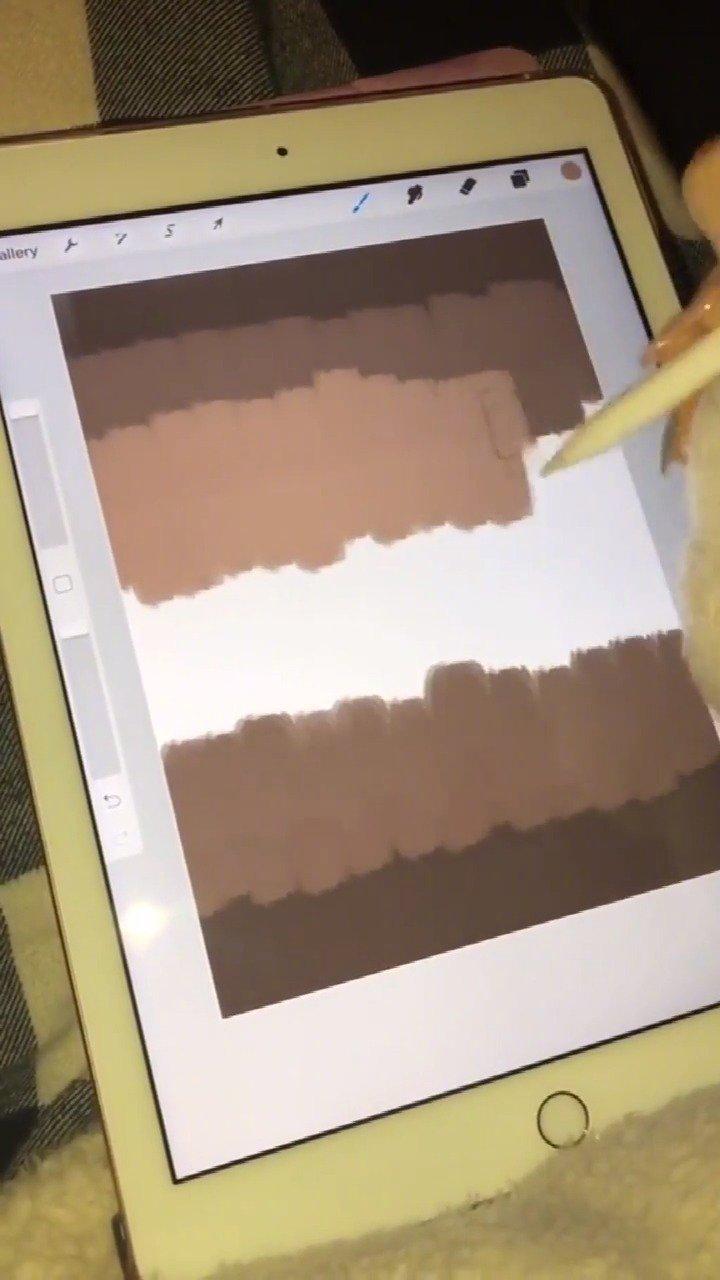 在iPad上这样画头发绝对不会失败..